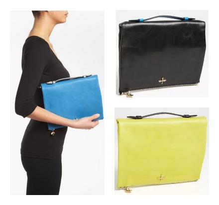 A designer iPad clutch to take you stunningly into fall