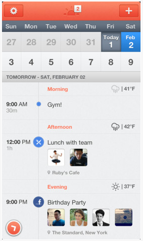 A free calendar app for iPhone to help parents organize your lives. A little. Maybe?