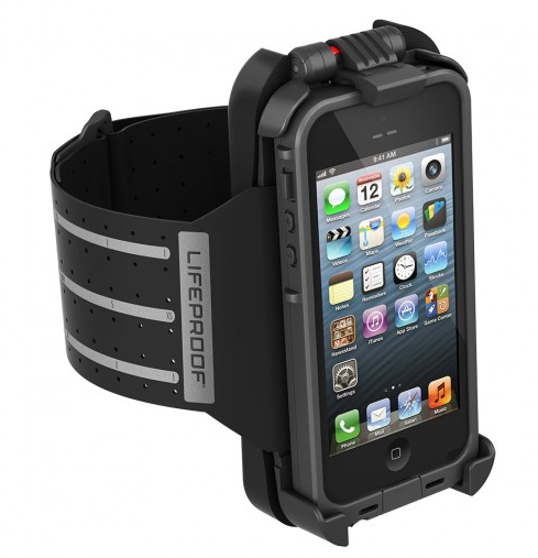 The new fitness accessories from LifeProof: Keeping your phone safe while you work out
