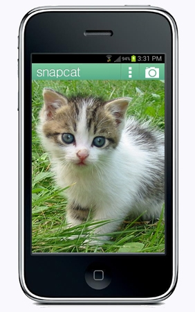 SnapCat app, ready to pounce when your kid screws up on Snapchat