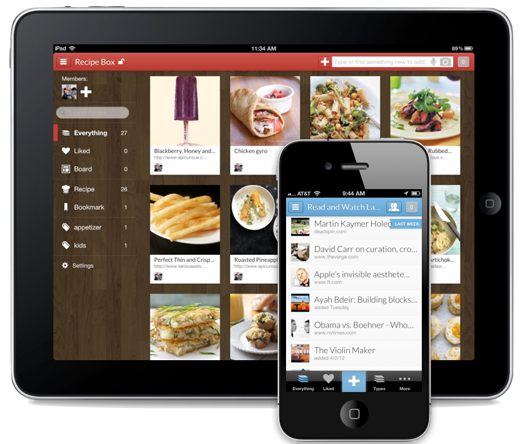 Springpad = Evernote + Pinterest + The next big thing?
