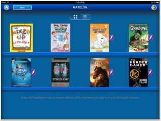 Storia iPad app – creating bookshelves for your kids without hammers or nails