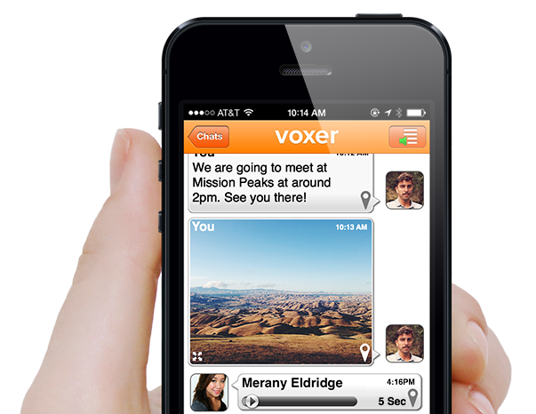 Voxer is Voicemail 2.0. Or maybe it's texting 2.0. Or walkie-talkie 2.0.