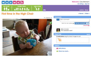 Wee Web – Now a virtual baby record book
