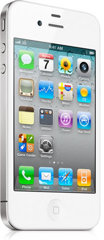 The white iPhone 4 is here, just in time for Memorial Day