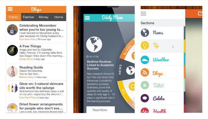 The Daily Mom: The daily down-low for moms, all in one beautiful app.