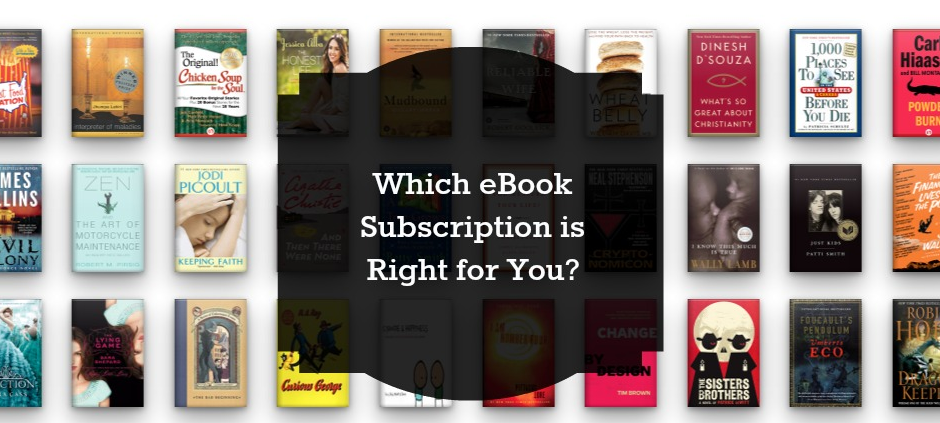 Which is the best ereader subscription service for you? We compare the top 3