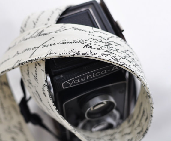 Still shooting with that dSLR? You deserve a nice new camera strap.