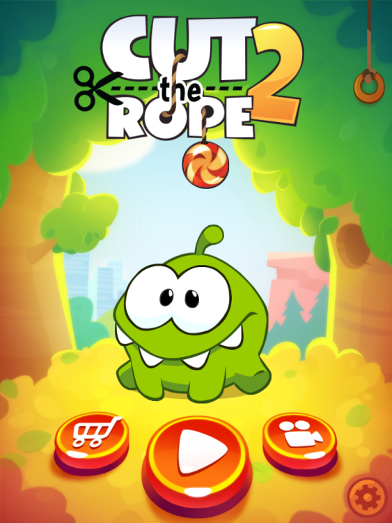 Cut the Rope 2 review: It is here. Oh yes it is. Don't even pretend you're not interested.