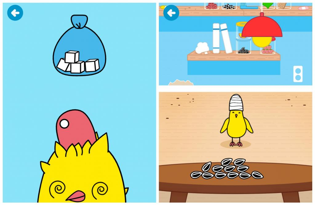 Toca Pet Doctor app lets kids care for animals without ever touching a real litter box.