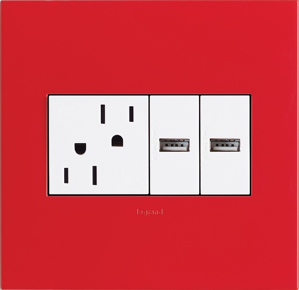 Legrand Adorne: The USB Electrical Outlet That Needs To Be In Our Homes,  Stat