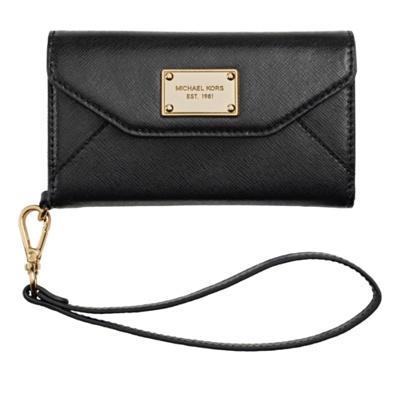 Ooh, swanky designer iPhone wallet clutch from Michael Kors.