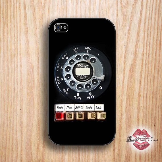 Fantastically retro phone cases let you ring-a-ling, clickety-clack, or ding dong.