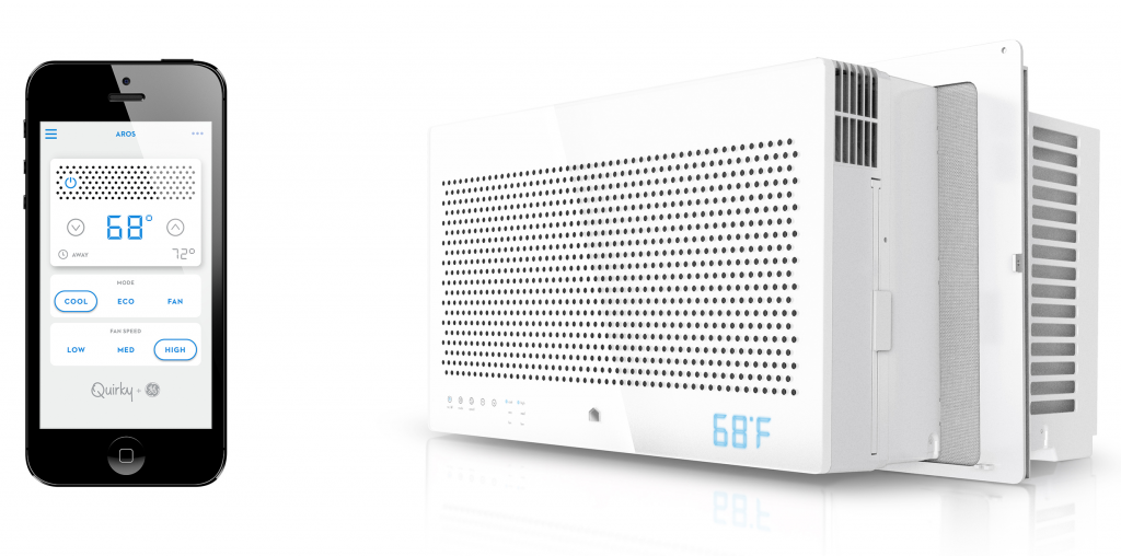 A smart air conditioner that's got beauty along with brains