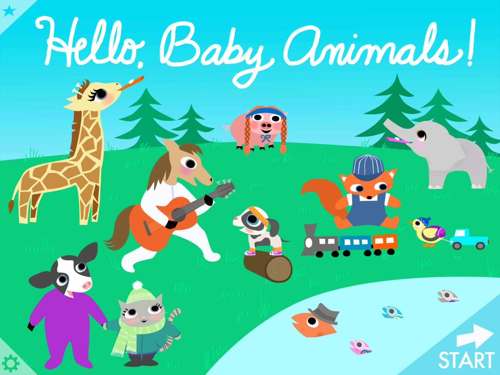 Hello Baby Animals app: Irresistible, interactive fun for preschoolers