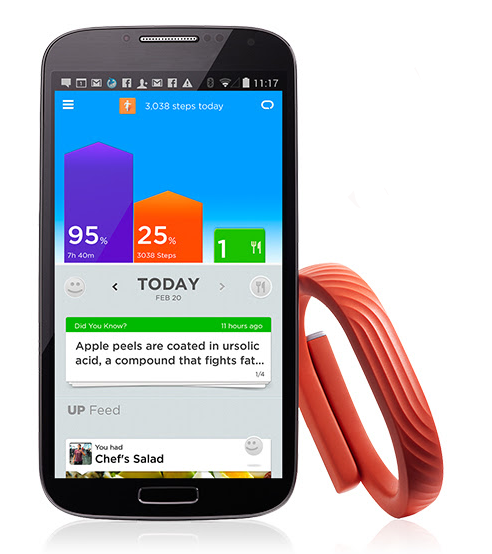 Jawbone UP24 for Android is here. Get ready to get sweaty.