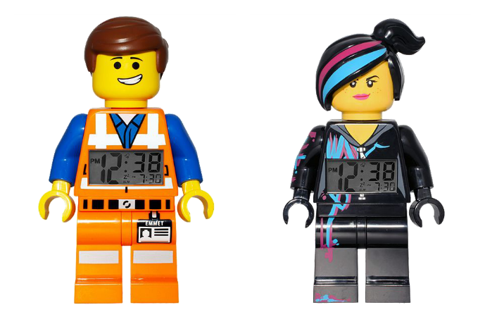 Wake up with your favorite Lego Movie minifigures. Without the pain of having them sleep with you.