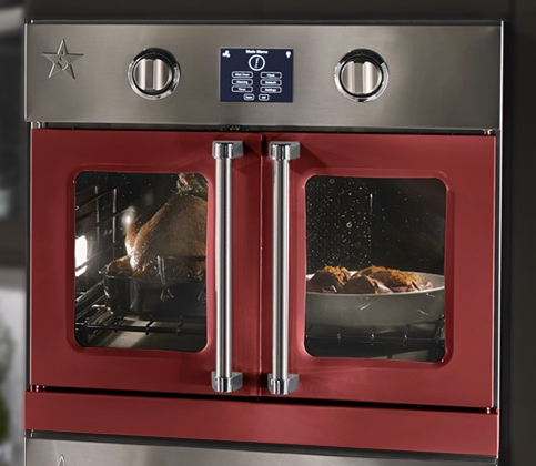 Ovens in smoking hot colors