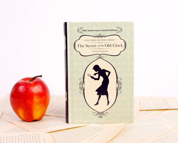 Nancy Drew and the case of the handmade eReader covers that look like books