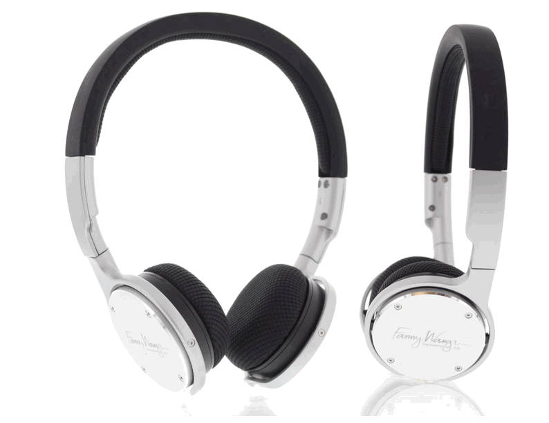 Fanny Wang headphones: Made for a woman, but strong enough for a man