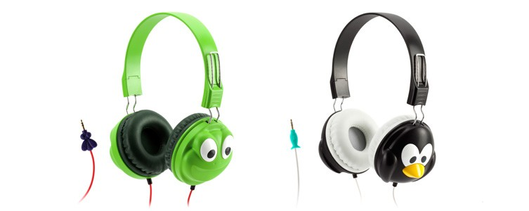 Griffin's safe headphones for kids protect little ears adorably