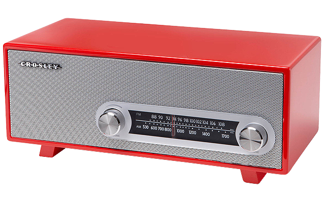 A cool tech gift for the mom who still likes her AM/FM radio.