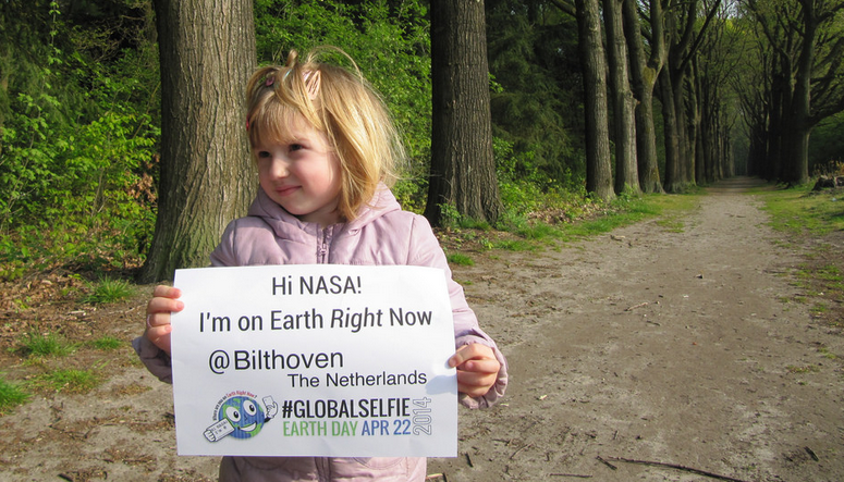 NASA Global Selfie Earth Day project: One selfie that's for more than your ego