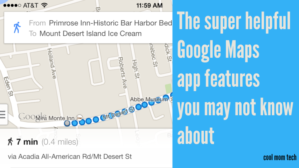 9 cool features in Google Maps that you may not know about
