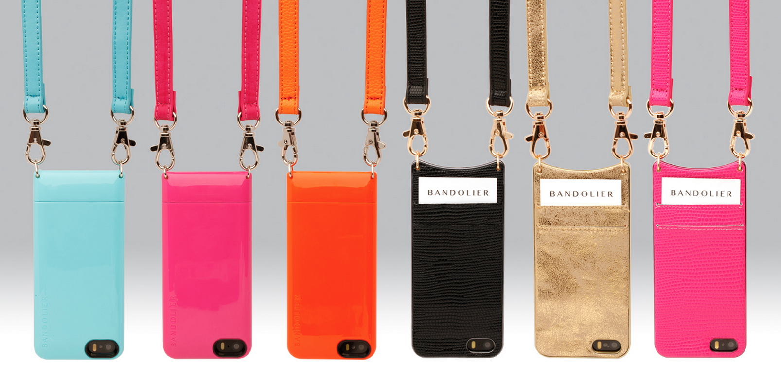 The Bandolier iPhone case: Function meets style meets you need a date night now