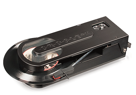 Dads Dig This : Crosley Revolution Portable Turntable