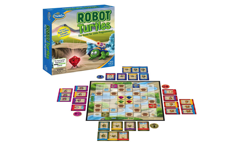 Robot Turtles, the most backed board game in Kickstarter history, is ready for play