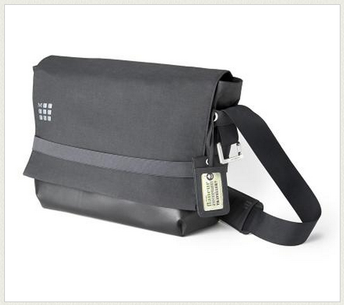 Moleskine goes beyond notebooks with their swanky new laptop messenger bags