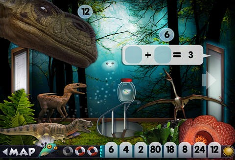 7 great math apps for summer review. Don't worry kids, they're fun.