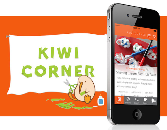 Kiwi Corner app: More than a thousand kid-friendly crafts and activities at your fingertips