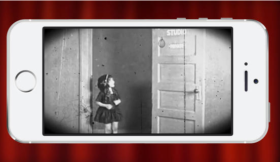 Silent Film Studio video app will take your videos back. Way back.