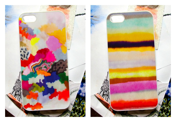 Our favorite fall accessory: Gorgeous iPhone cases by indie artist Kristi Kohut.