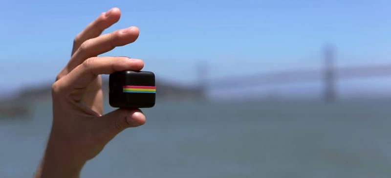 Polaroid Cube camera: Cute enough to eat up. But don't. Because it's a camera.