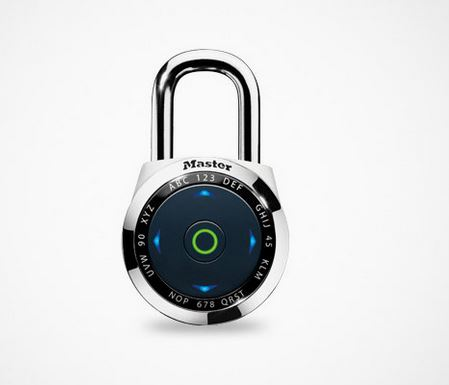 Master Lock 1500eDBX: Definitely not the padlock you remember from your school days