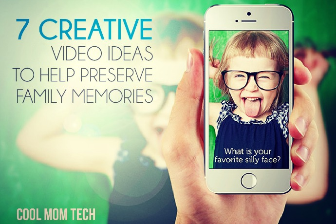 7 creative video ideas to help preserve family memories in cool ways