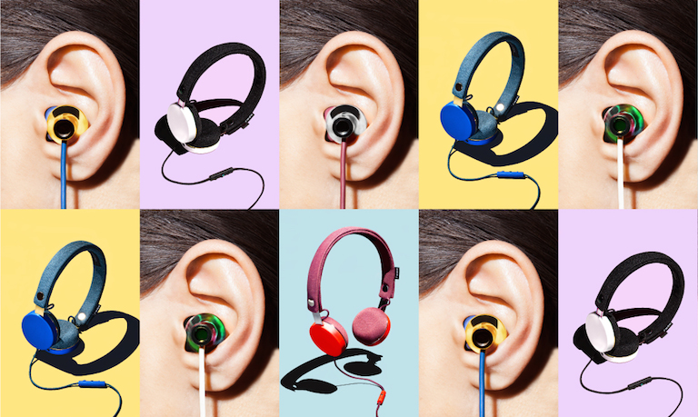 The new Marc Jacobs headphones for Urban Ears: Swanky. Affordable. Washable?