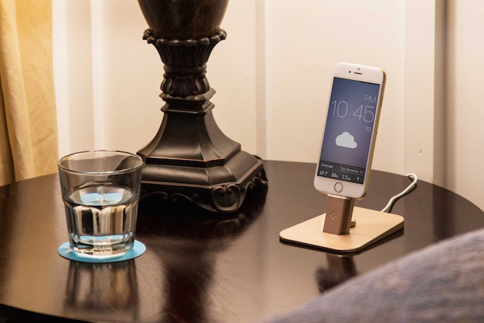 HiRise Deluxe by Twelve South: A beautifully designed iPad and iPhone charging dock that makes you wonder why no one thought of it first.