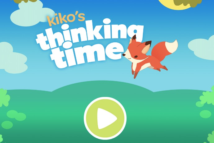 Kiko's Thinking Time educational app: Developed by neuroscientists, for scientific proof your kids are learning.