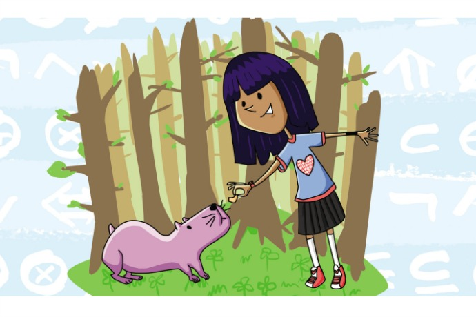 Lauren Ipsum: A computer science story for kids in the spirit of The Phantom Tollbooth.