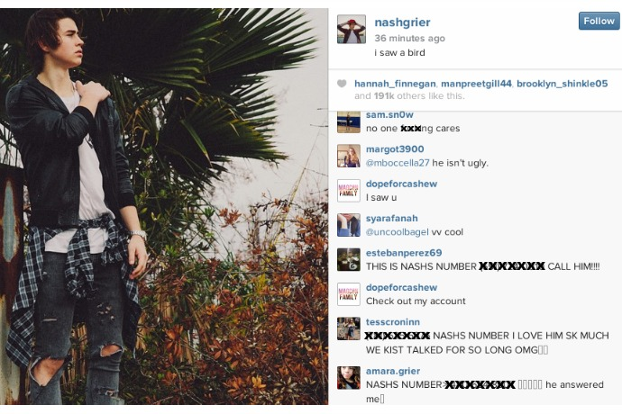 The newest watch-out for parents: Phone numbers posted on Instagram