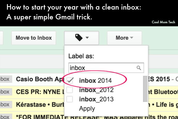 Inbox Zero trick: How to clean out your inbox on Gmail and start the year fresh.