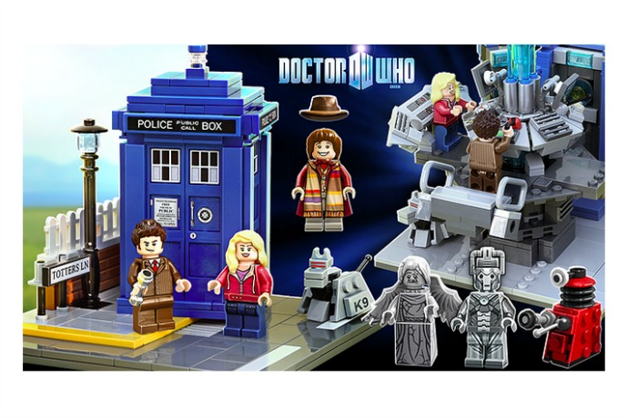 Web Coolness: Doctor Who Lego sets, new annoying Instagram feature, and printable Minecraft valentines
