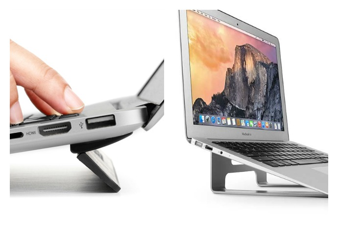 Smarten up your workspace with 2 great new laptop stands for MacBooks