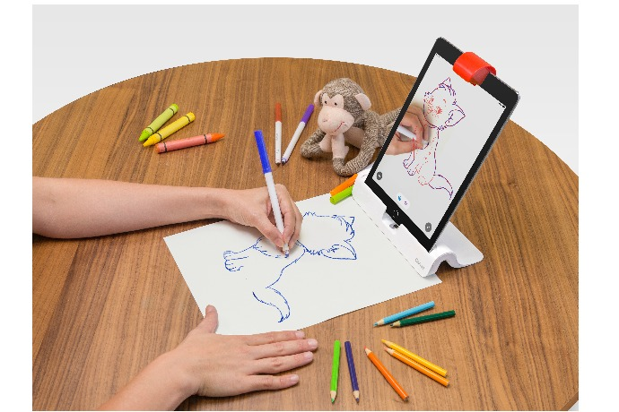The new Masterpiece app for Osmo helps turn kids into brilliant artists. (Berets not necessary.)