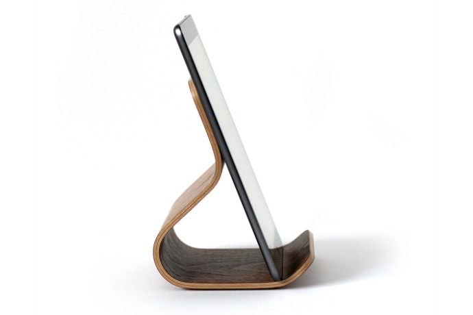 An iPad stand for Eames fans