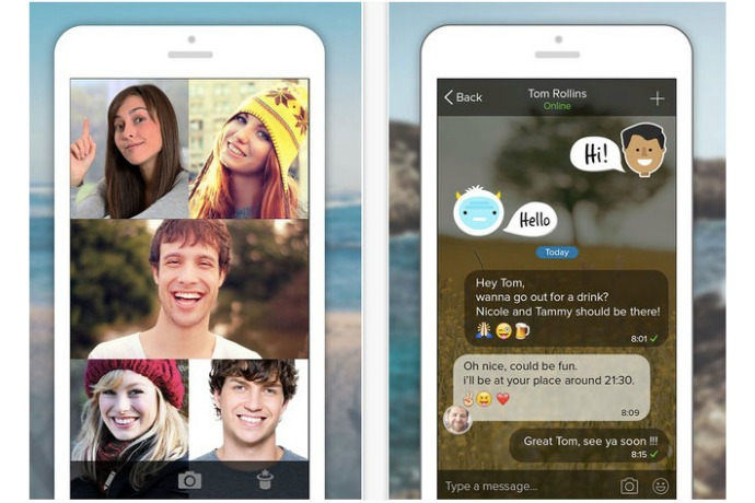 Rounds app: A terrific Facetime alternative for Android users who want to talk to iPhone users.